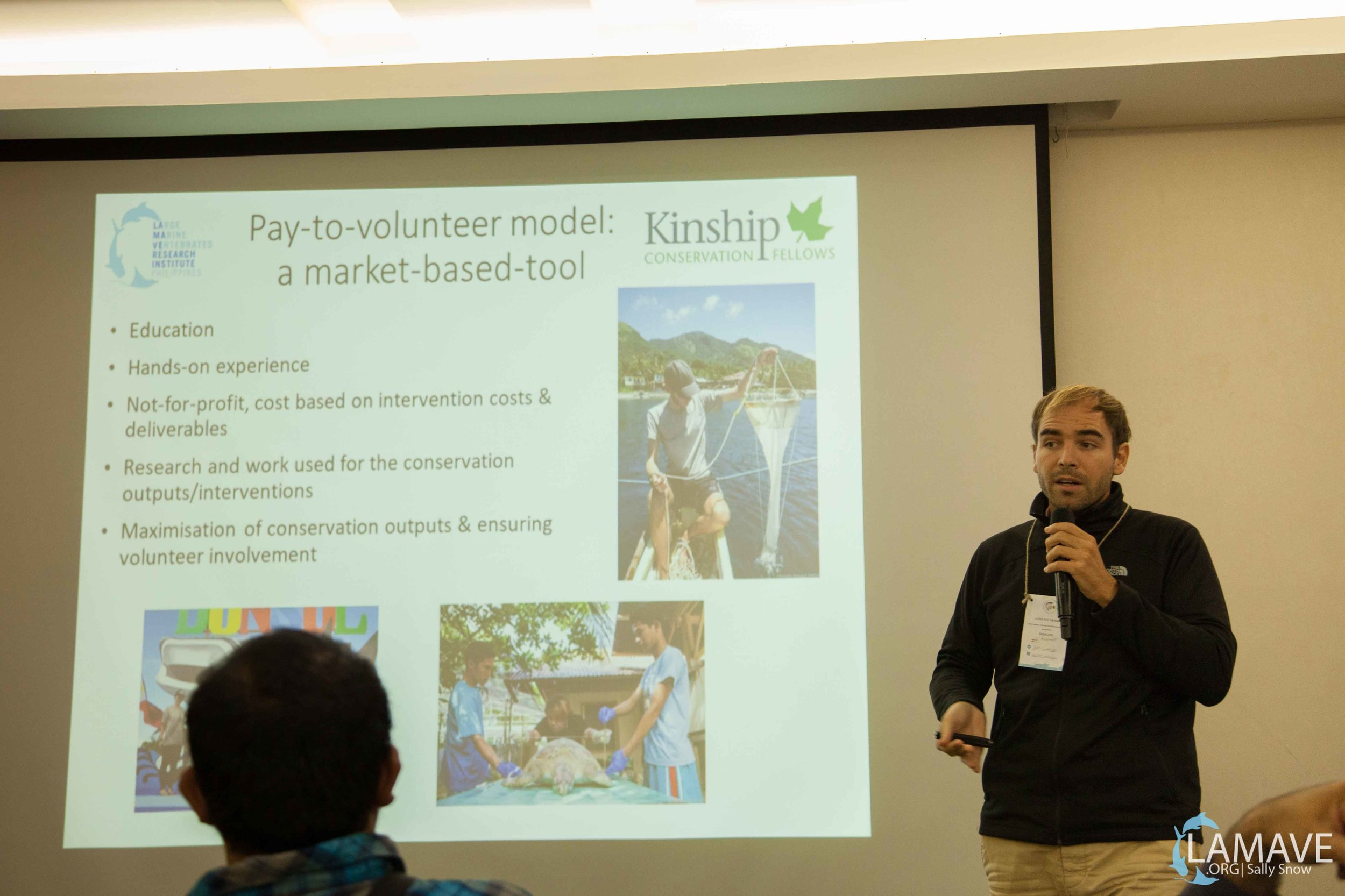 Gonzalo Araujo discussing market-based-tools, thanks to Kinship Fellowship