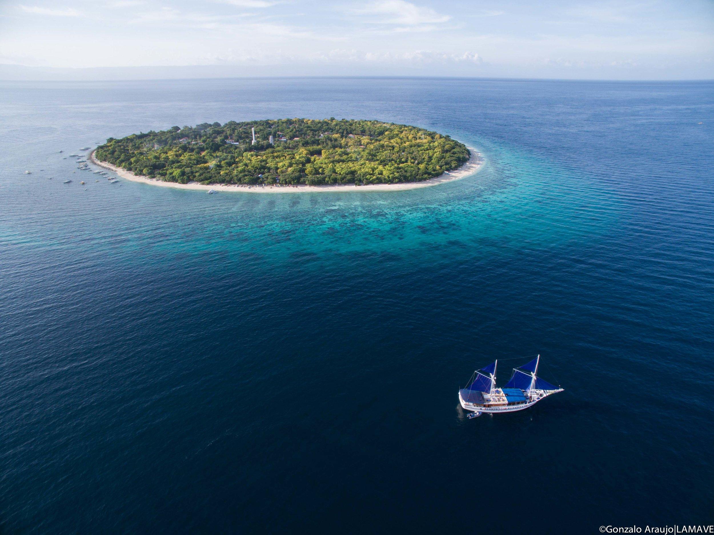 Balicasag island, Bohol