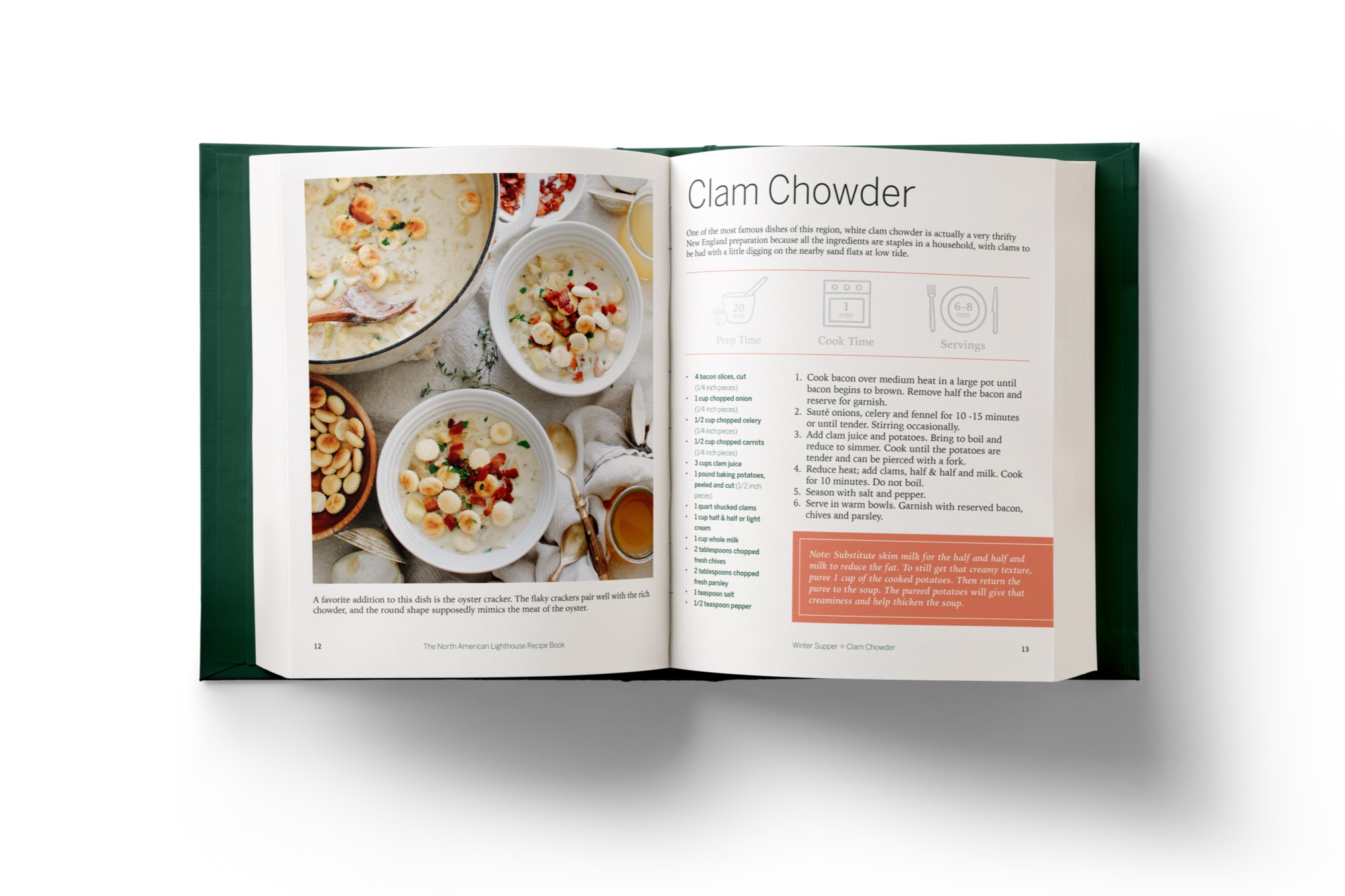 The North American Lighthouse Cookbook