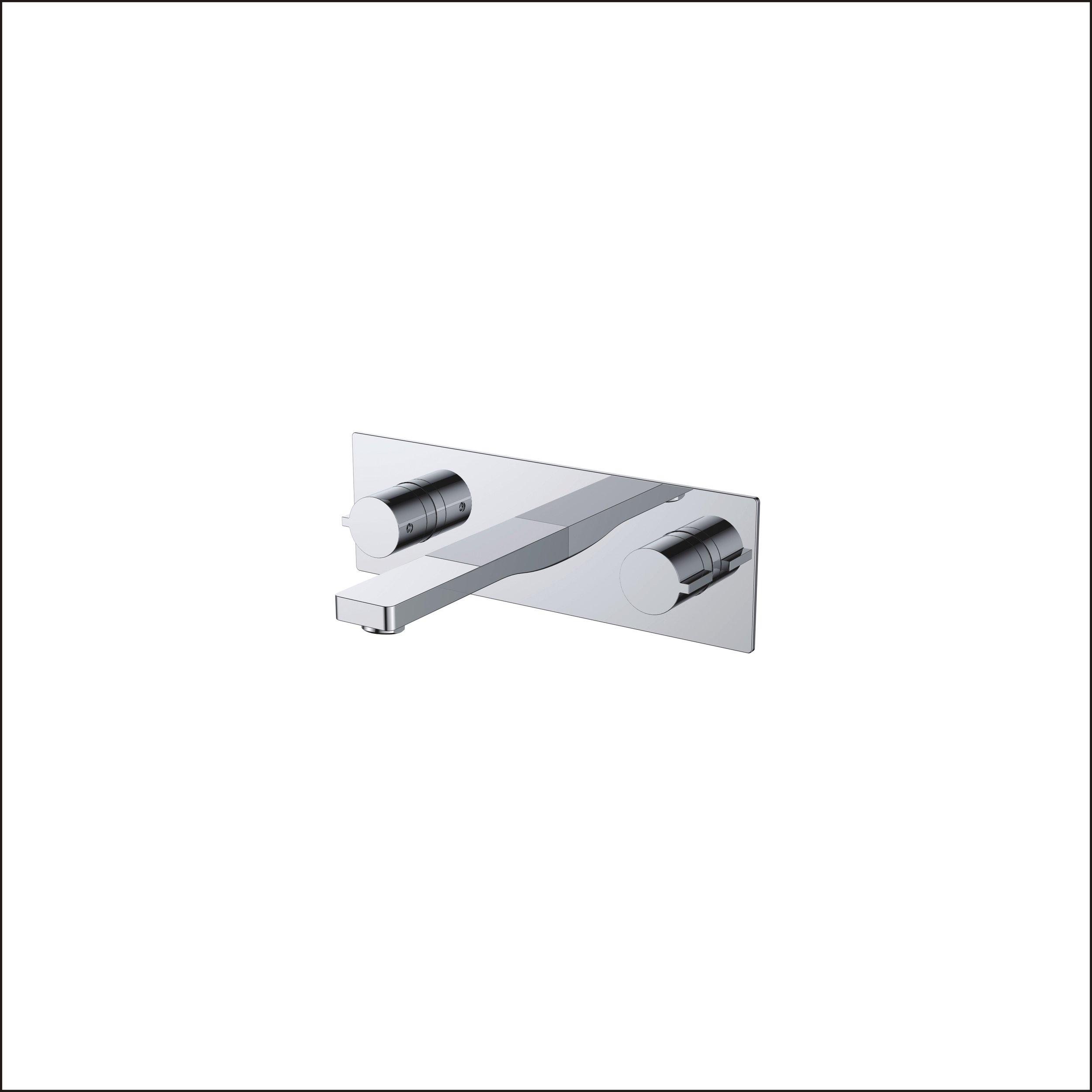 718-107:Wall mounted bath faucet
