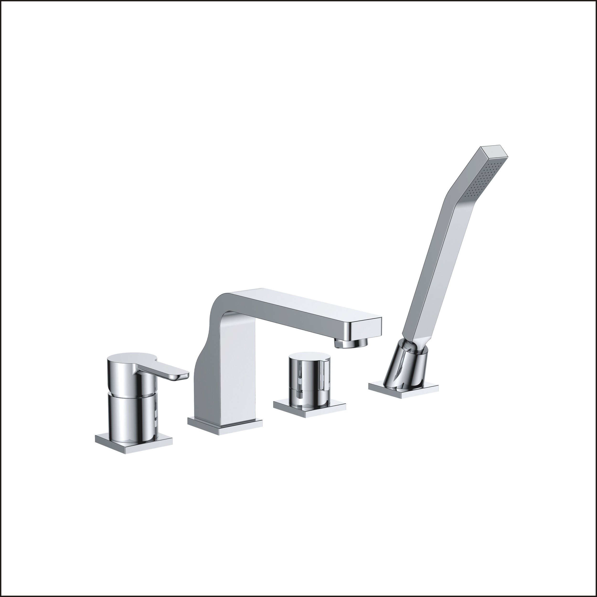 718-109: Widespread faucet with spray