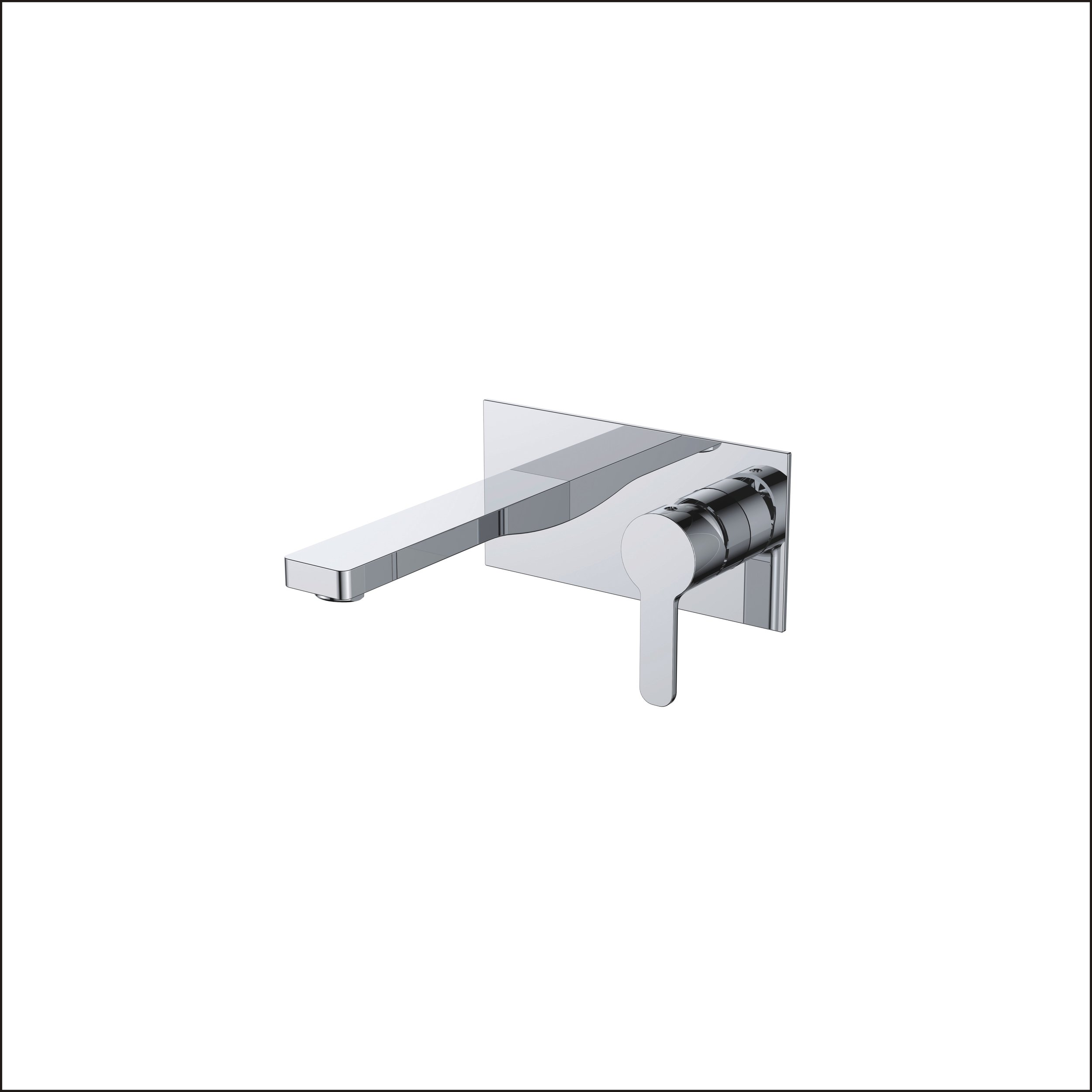 718-110: Concealed shower valve with spout