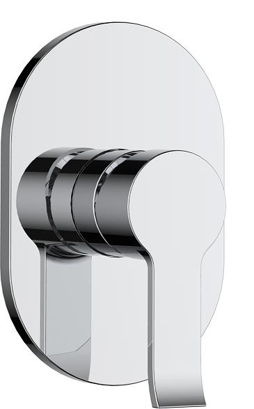 736-107: Concealed shower valve