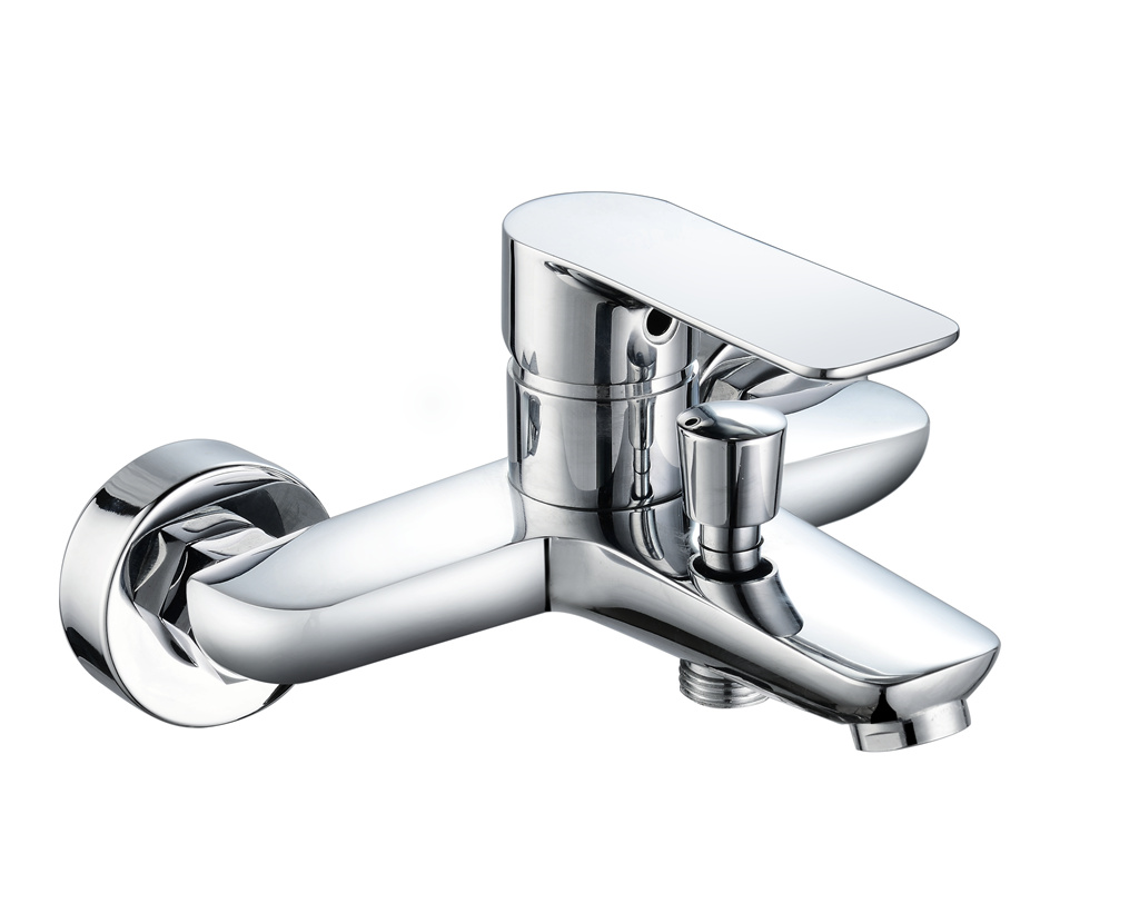3521-102: Wall mounted bath shower faucet