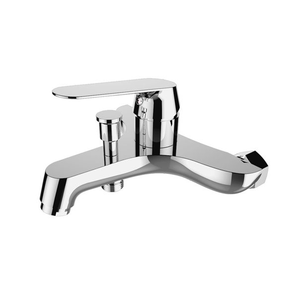 3519-101: Wall mounted bath shower faucet