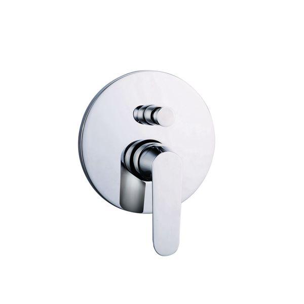 3519-106: Concealed shower valve with diverter