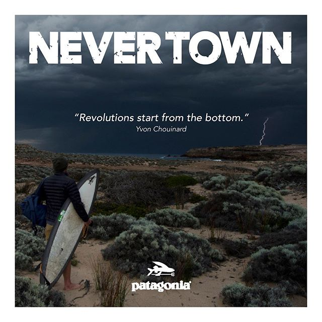 Beach without sand & Patagonia in support of living ocean will be showing the Never town movie at Avalon cinemas, Thursday 12th of July. Doors open at 6:00pm screening at 7:30pm. Come on down for a great movie and a good time! @patagoniaaus #nevertown #patagonia #beachwithoutsand #livingocean