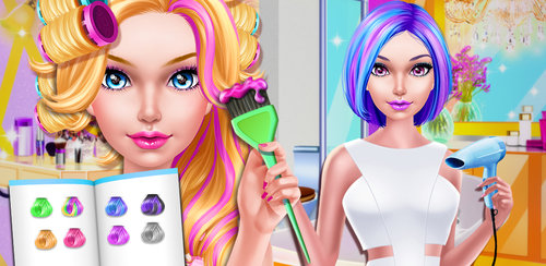 Fashion Doll - Hair Salon  Are you ready to go to fashion doll's hair salon? This beauty shop handles every aspect of hair design. It's the perfect place to get the trendiest looks.
