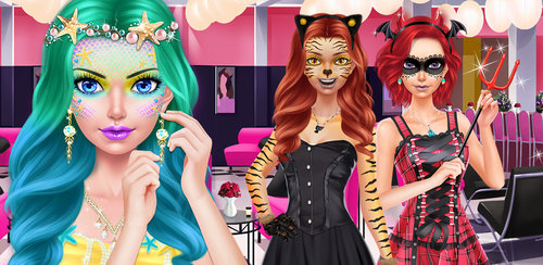 Fashion Doll - Costume Party  It's a fun Fashion Doll costume party and the pretty girl needs your help getting ready to be mermaid! Start by taking her to the spa for a relaxing facial. Cleanse, exfoliate and moisturize her skin with all natural creams and oils.