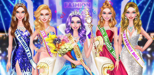Fashion Doll - Beauty Queen  Fashion Doll is doing amazing at the beauty pageant and has made it into the finals. You are her personal stylist for the beauty content and need to make her look super pretty at your salon!