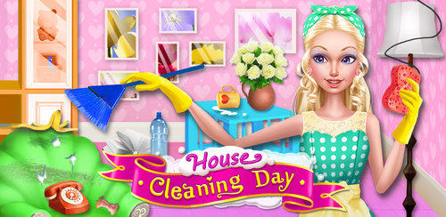 Fashion Doll - House Cleaning  You don't have to wait until Spring to give your house a good cleaning! In House Cleaning Day, clean up your house and get rid of the things you don't need.