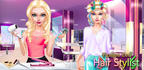 Prom Queen Hair Stylist Salon  The school dance is tonight and fashion doll is nervous. She's not good at doing her hair, she doesn't wear much makeup, and she never has a thing to wear. Open up your beauty salon and help her get ready!