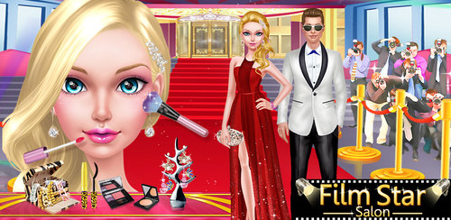 Miss Film Star - Beauty Salon  It's time to roll out the red carpet. The photographers are lining up and the awards show begins in just hours! The celebrity girls need the perfect makeup and gowns to impress their fans and their boyfriends.