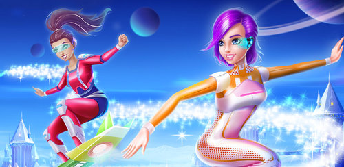 Fashion Doll - Star Fantasy  Travel among the stars in this future forward game. You're a space princess with lots of power and the galaxy needs your help !