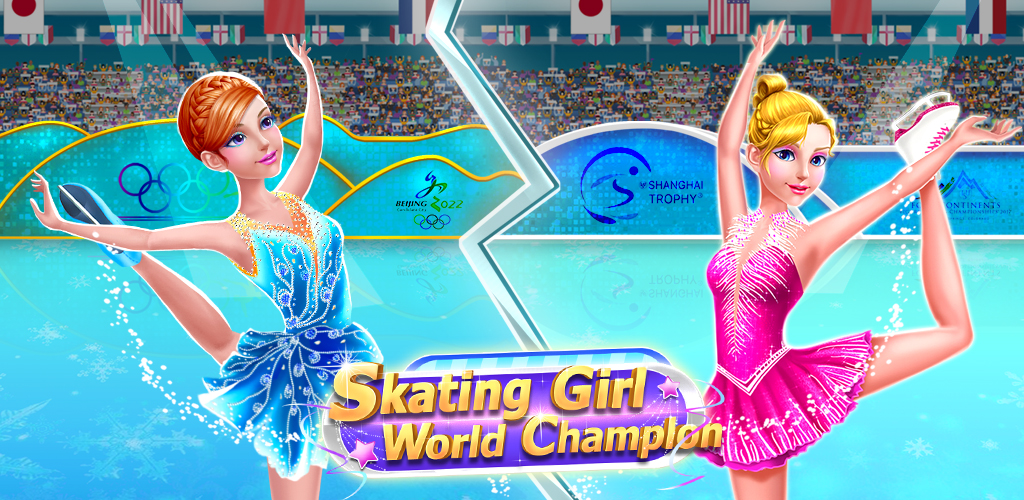 Ice Skating Superstar - Perfect 10  Keep Dancing & Skating! Win Gold at the Winter Olympics for your country!