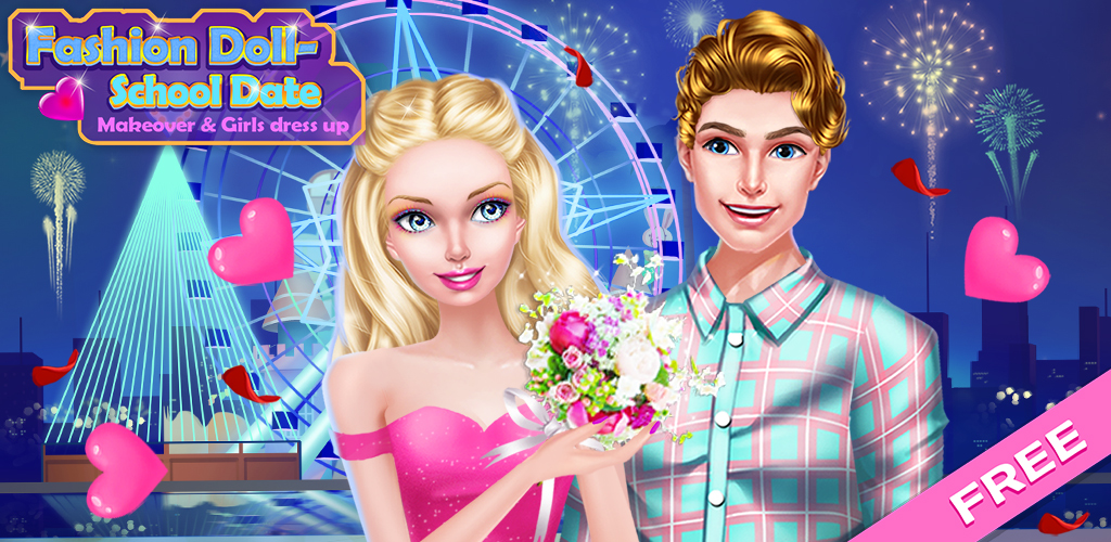 Ice Figure Skating: Gold Medal                      READY TO FALL IN LOVE? Play Free Girls High School Love Story Barbie Doll Games