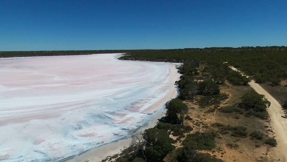 Lake Kenyon Salt lake