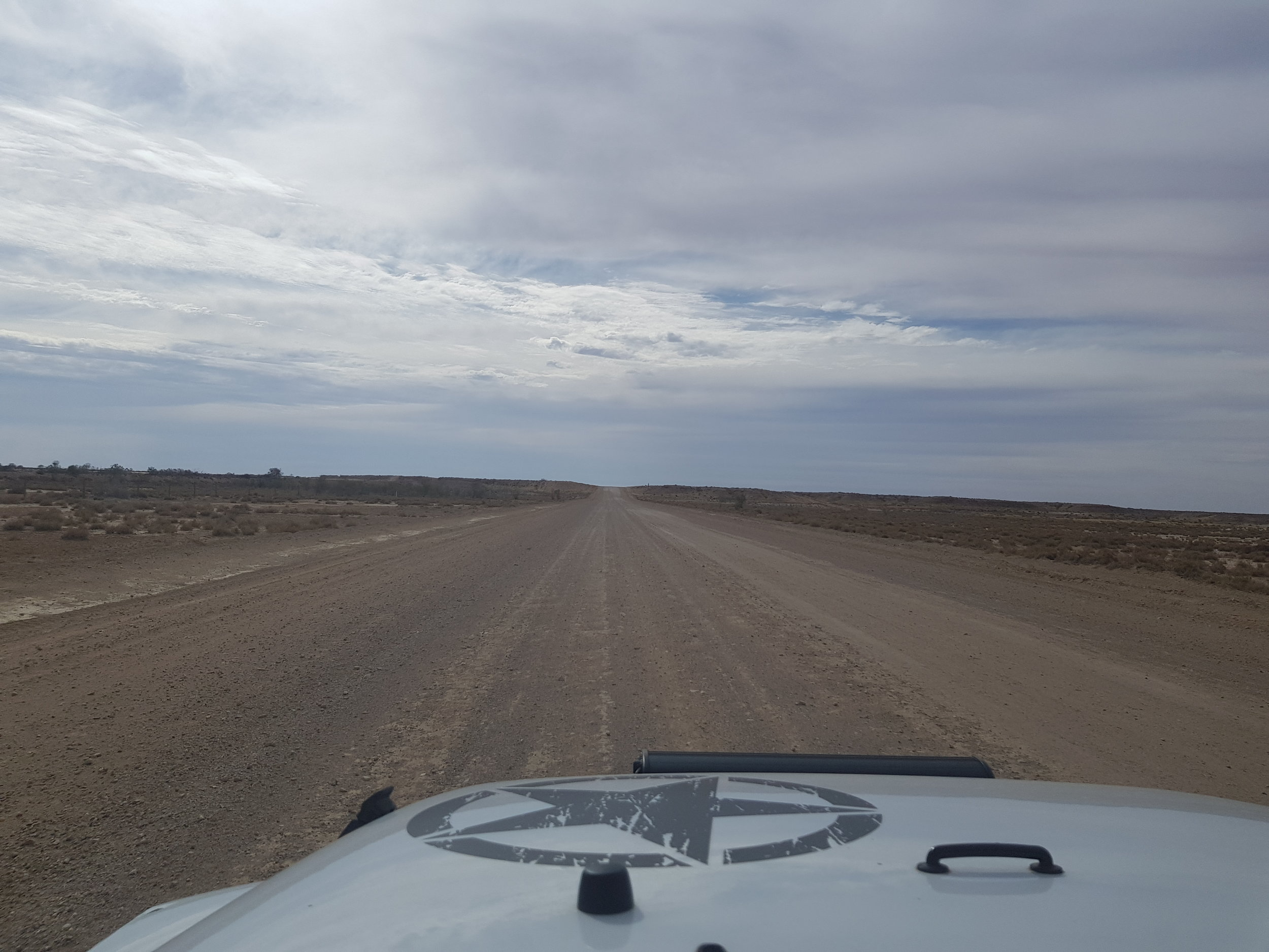 On the way to Marree…