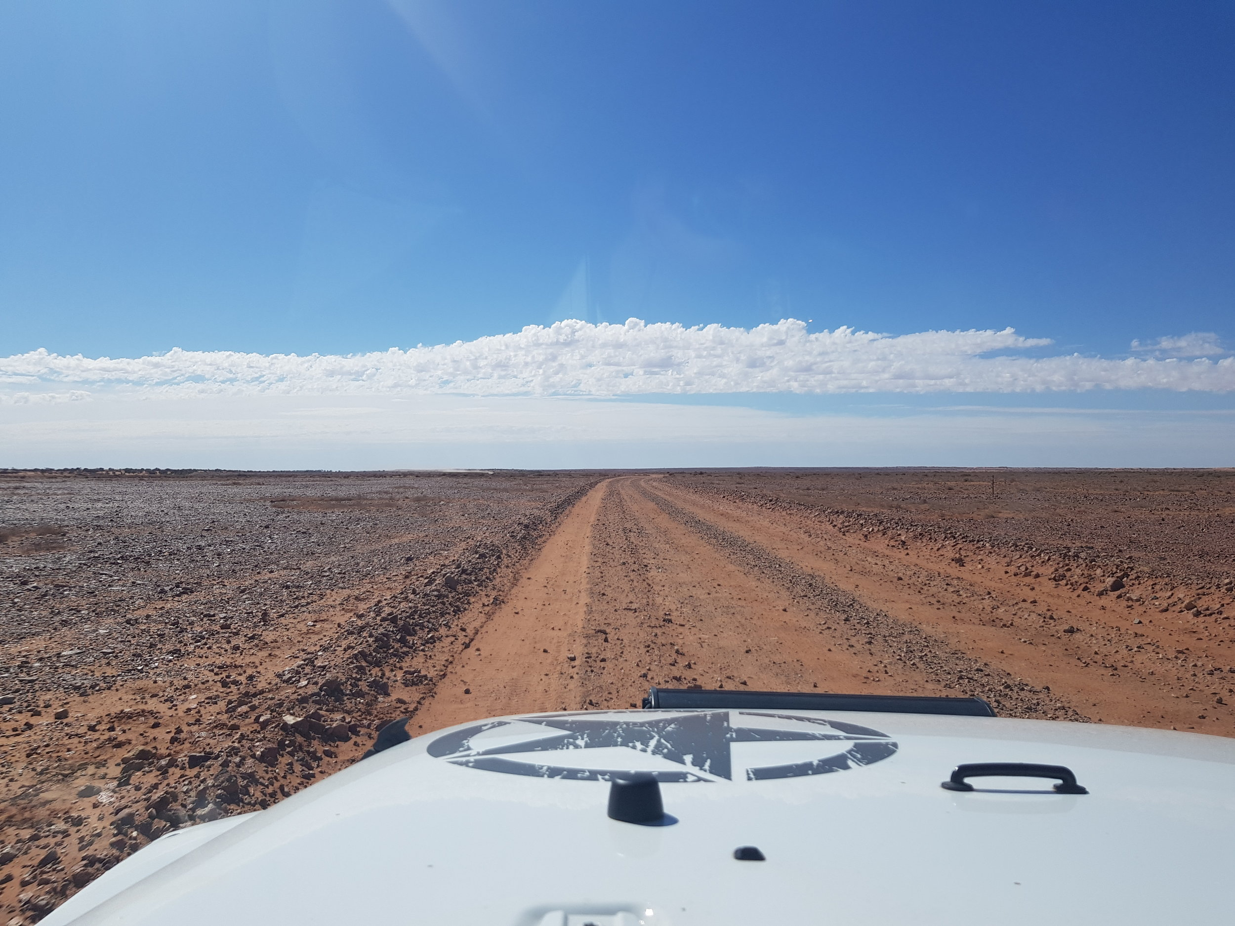 On our way to Lake Eyre, North side