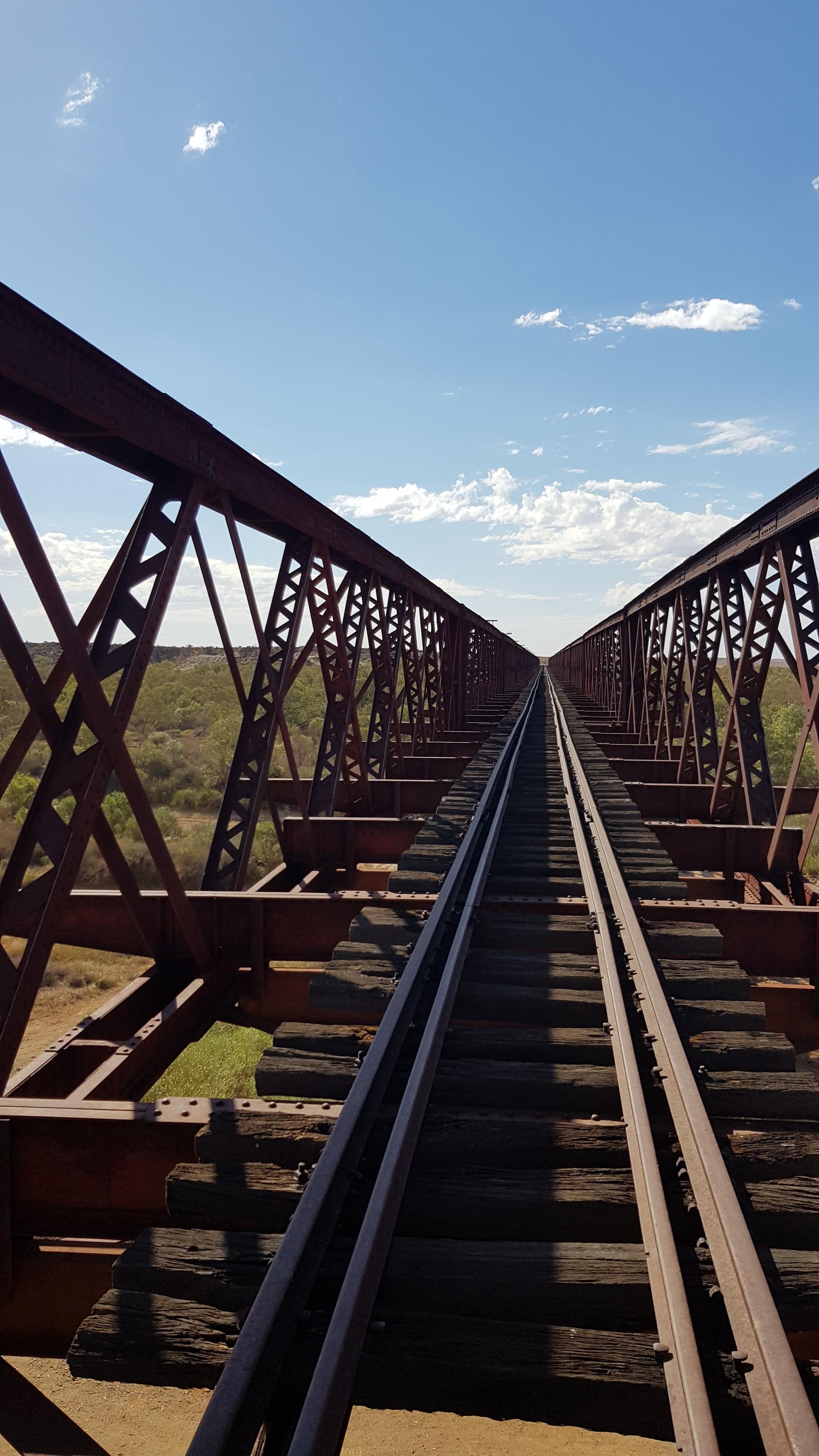 Algebuckina Old Ghan Railway Bridge