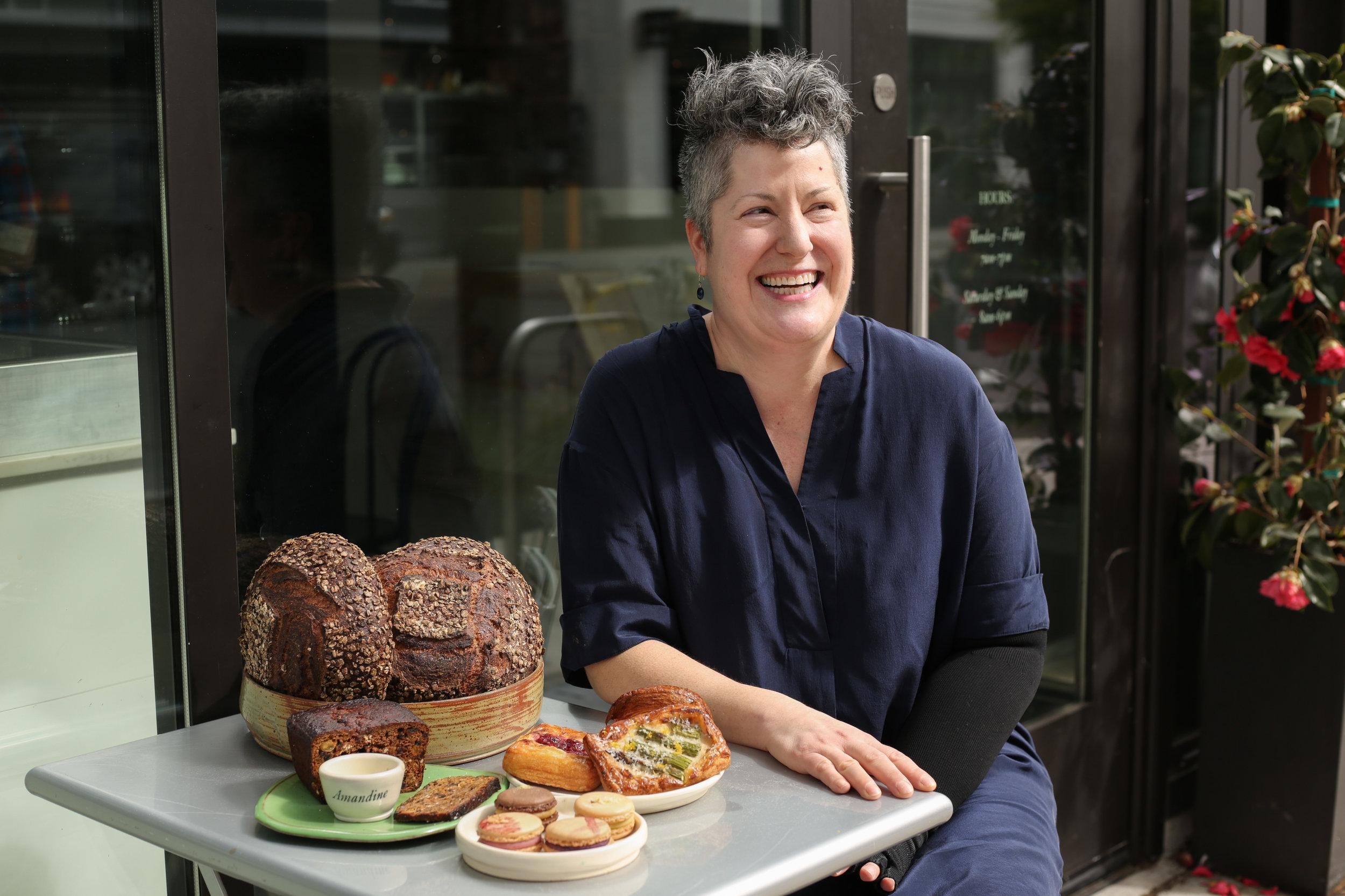Chef Sara Naftaly of Amandine Bakery