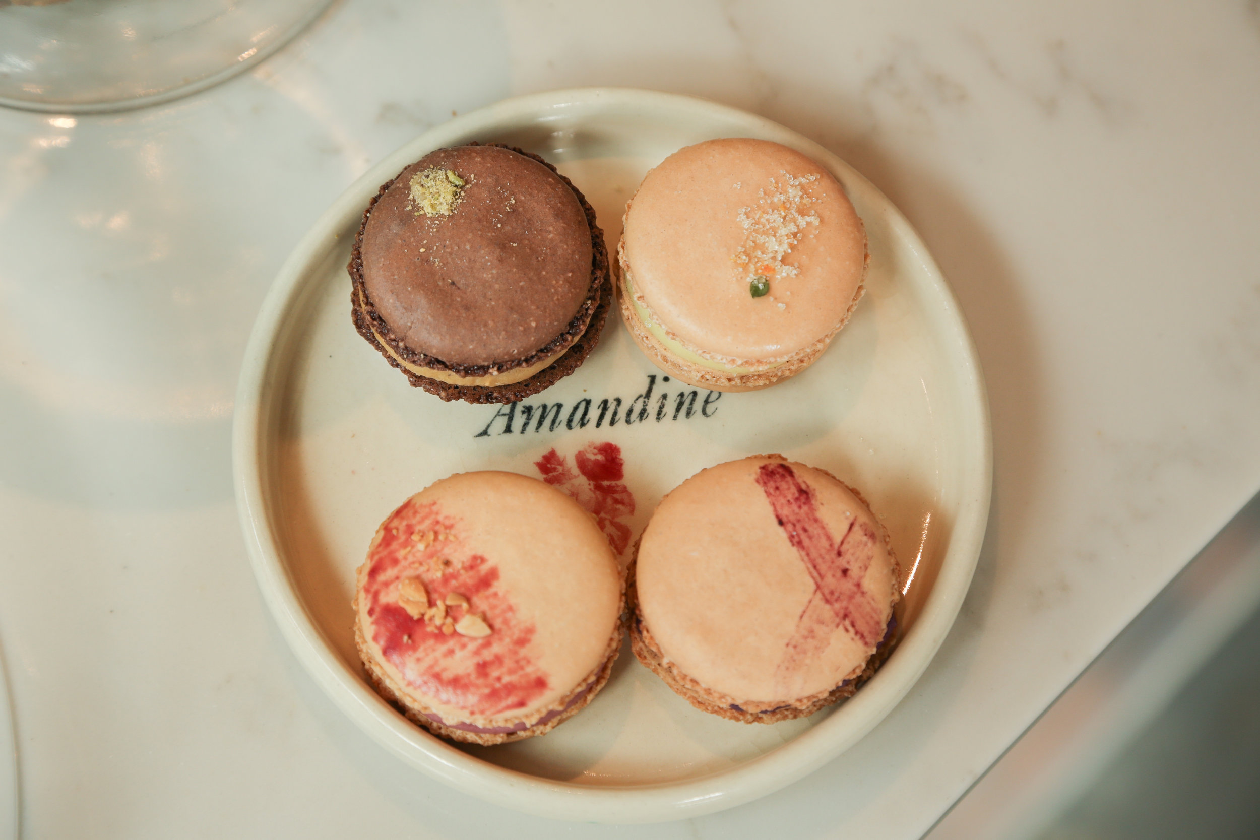 Macarons from Amandine Bakery