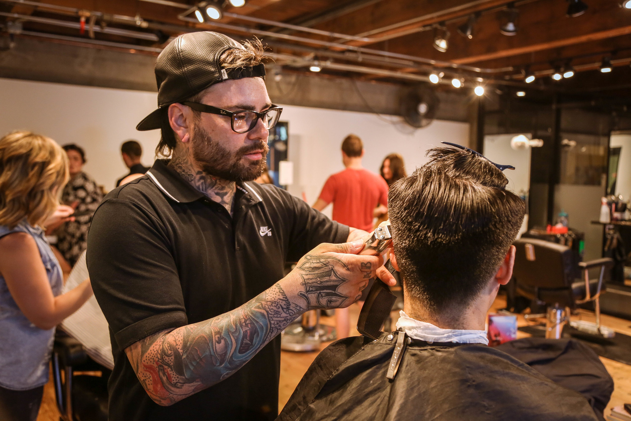 barber at Scotch Pine