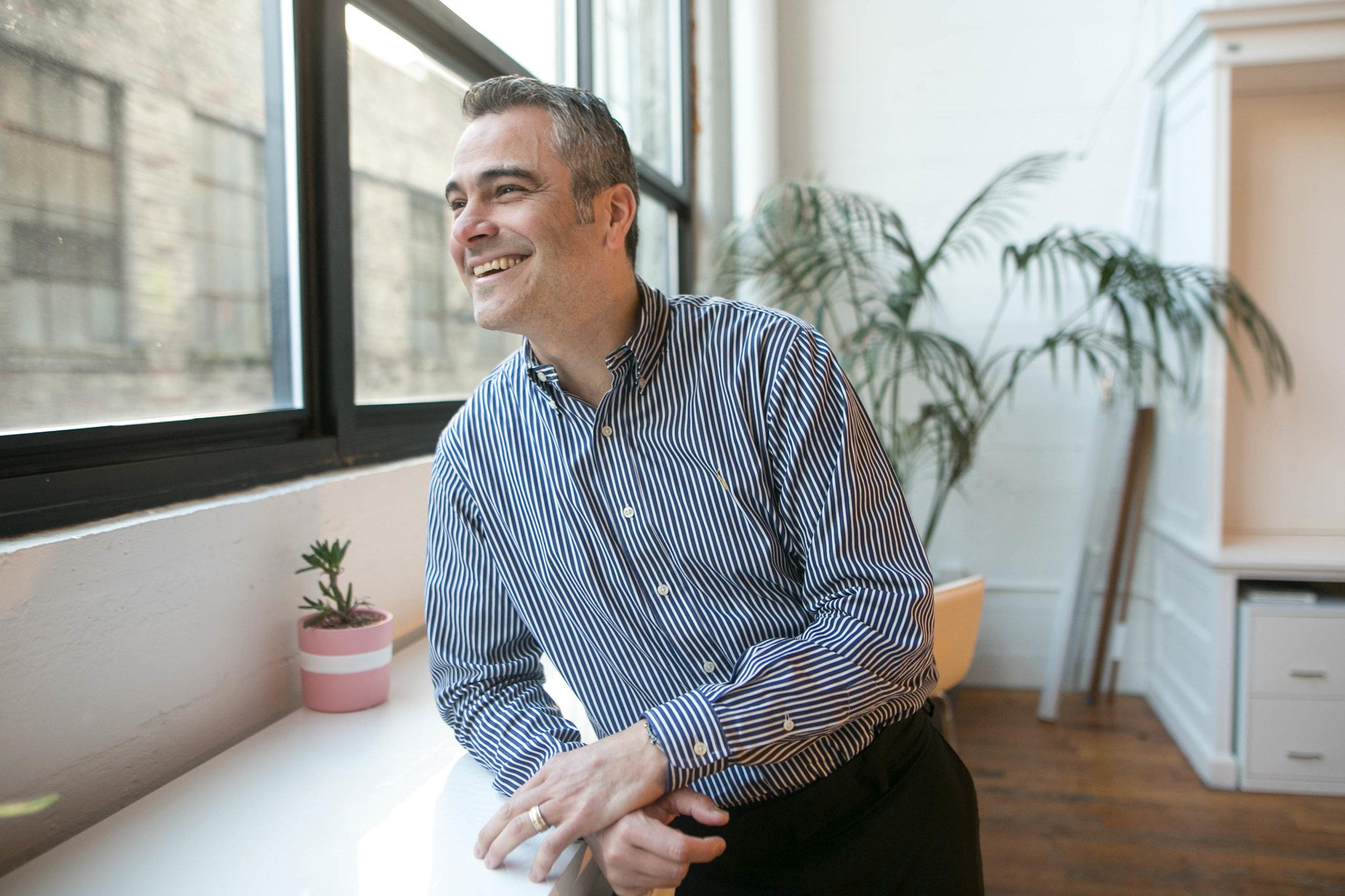 David Valadez, Head of Operations at The Riveter.