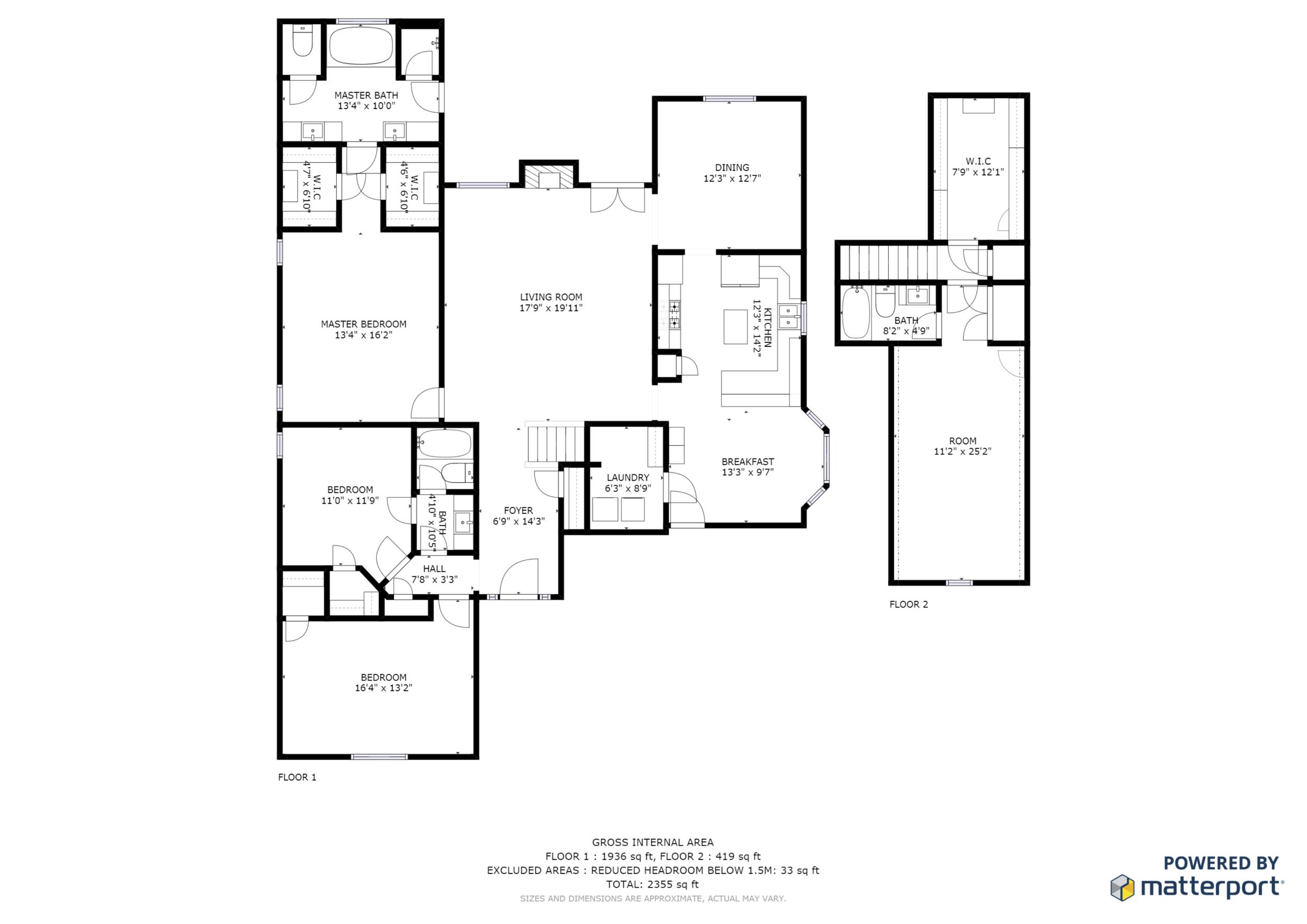 2D Floor Plans -