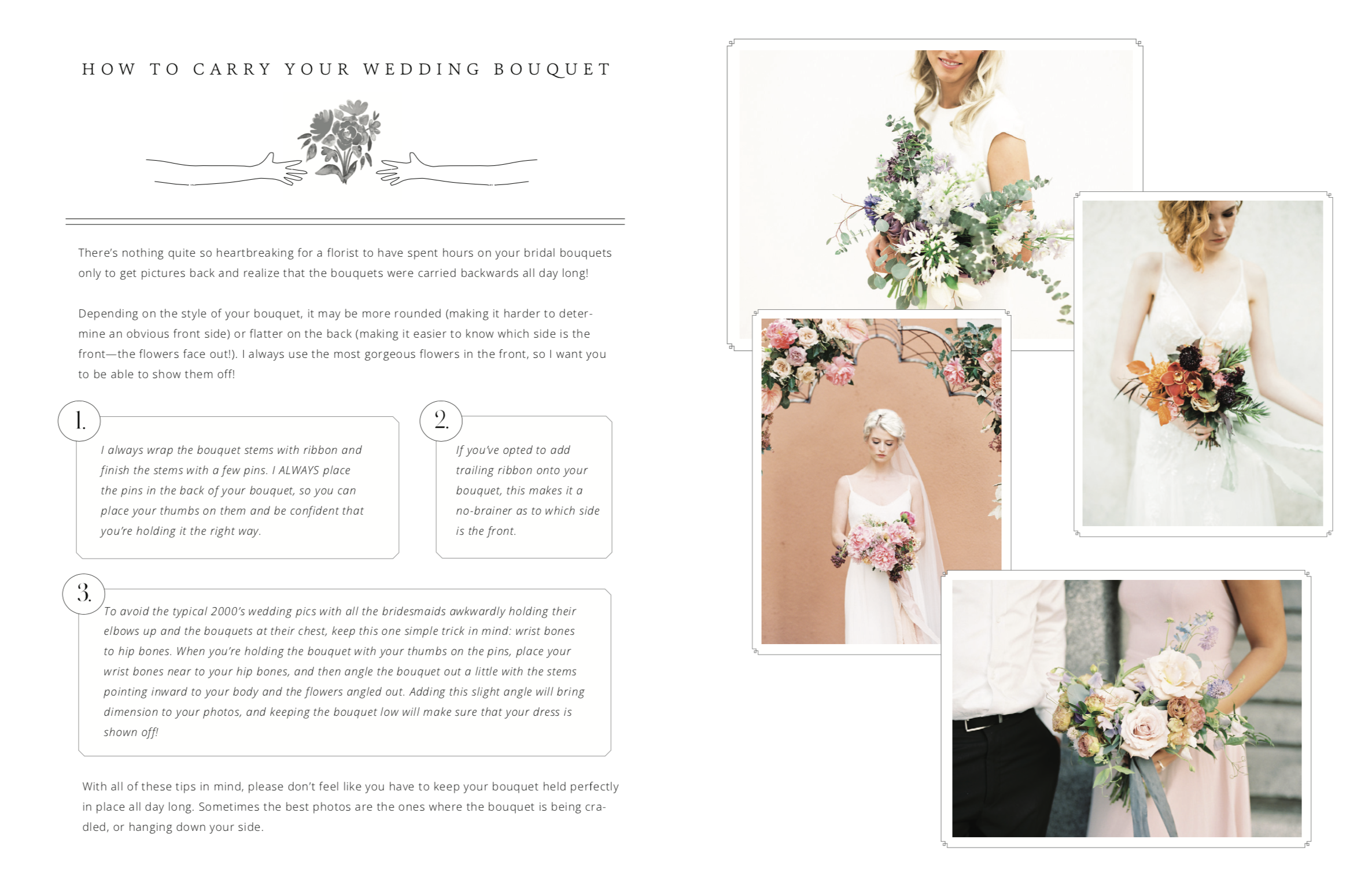 How to Educate Wedding Clients - Stone House Consulting