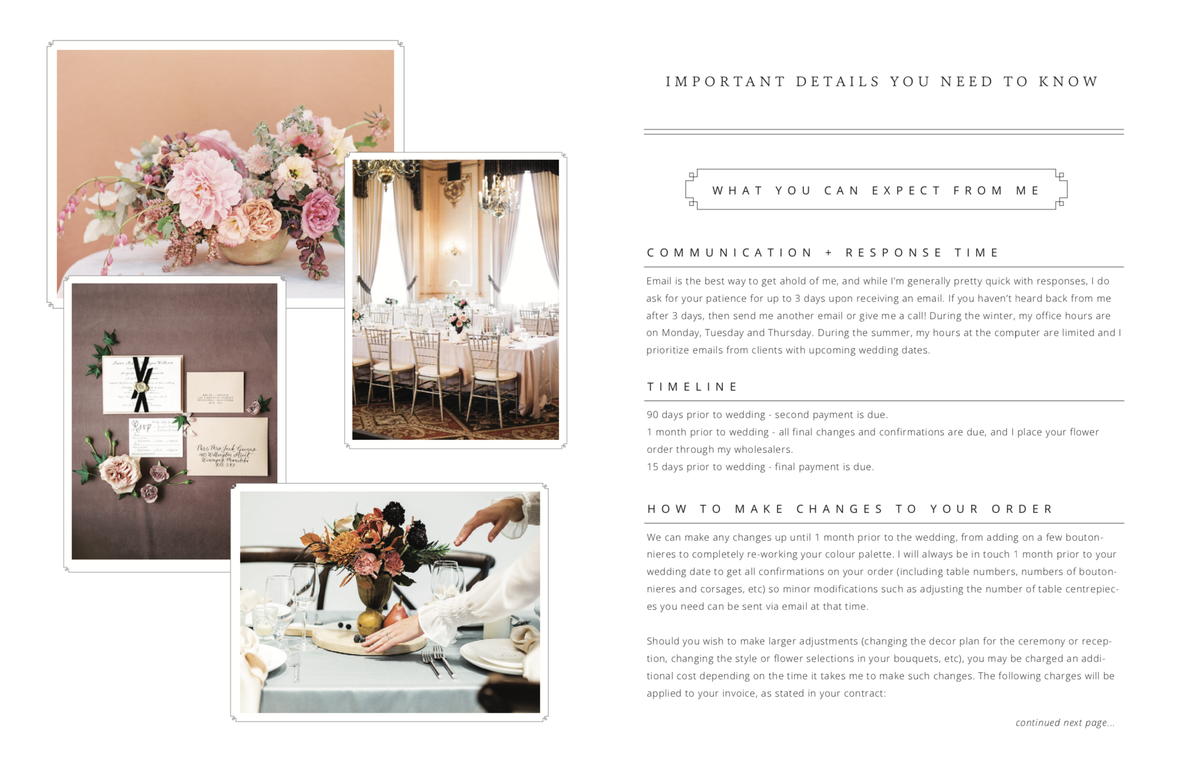 How to Build a Better Wedding Business - Educate Your Wedding Clients