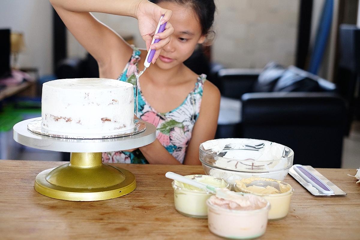 Sugar in a Vegan Cake
