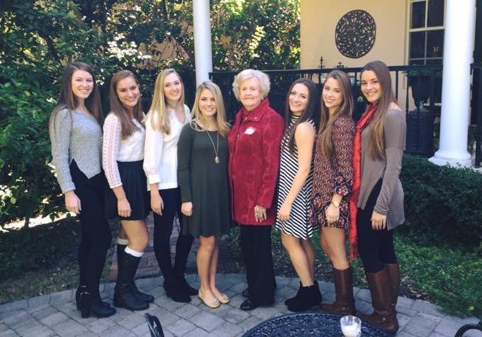 Betty Hall Woods hosting Pledge Tea in Tampa.jpg