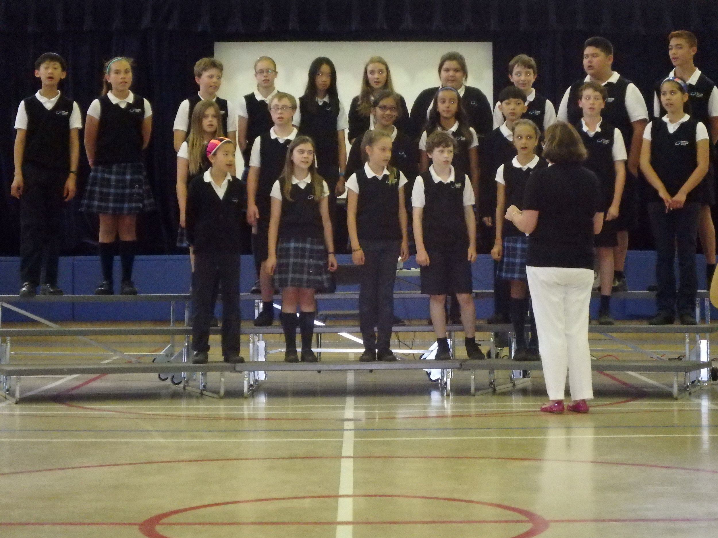 """Hey Jude"" . . . Performed by Grade Six"