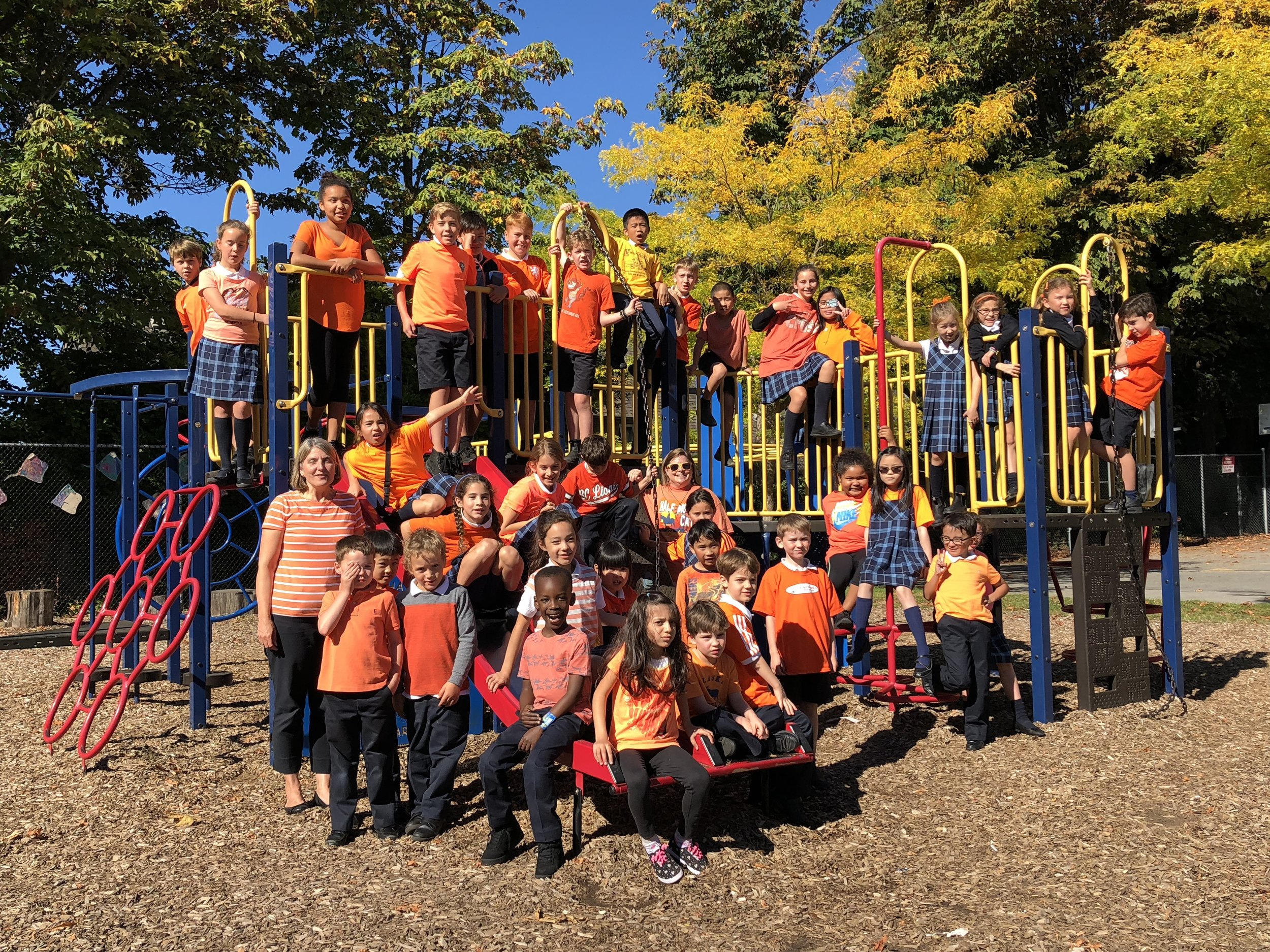 Every Child Matters . . . ICS supports Orange Shirt Day.