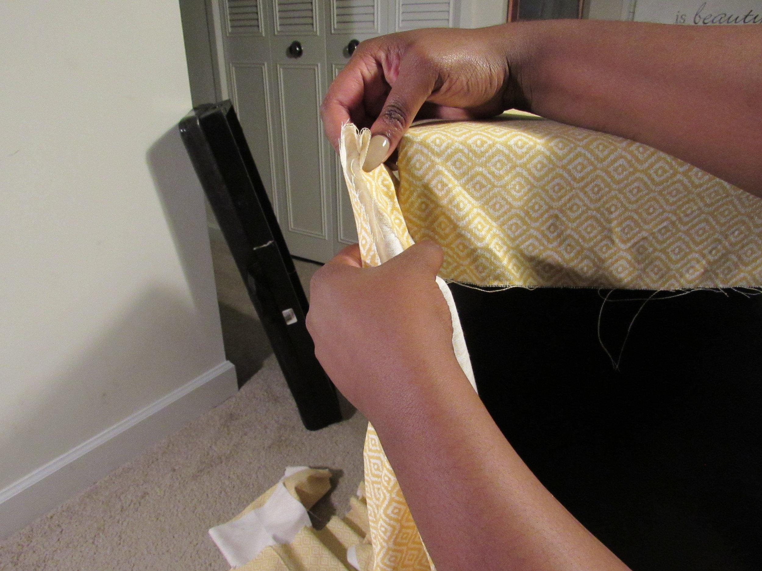 Pulling Fabric Tight.JPG