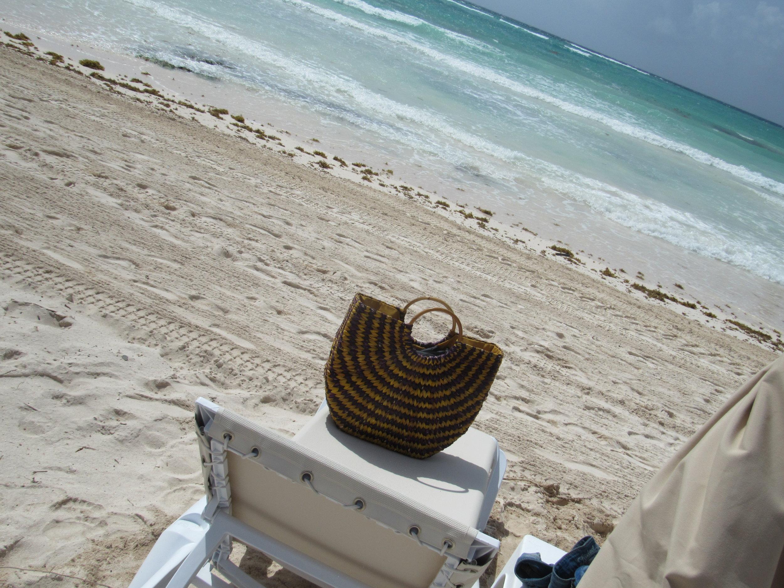 Beach Bag on Chair.JPG