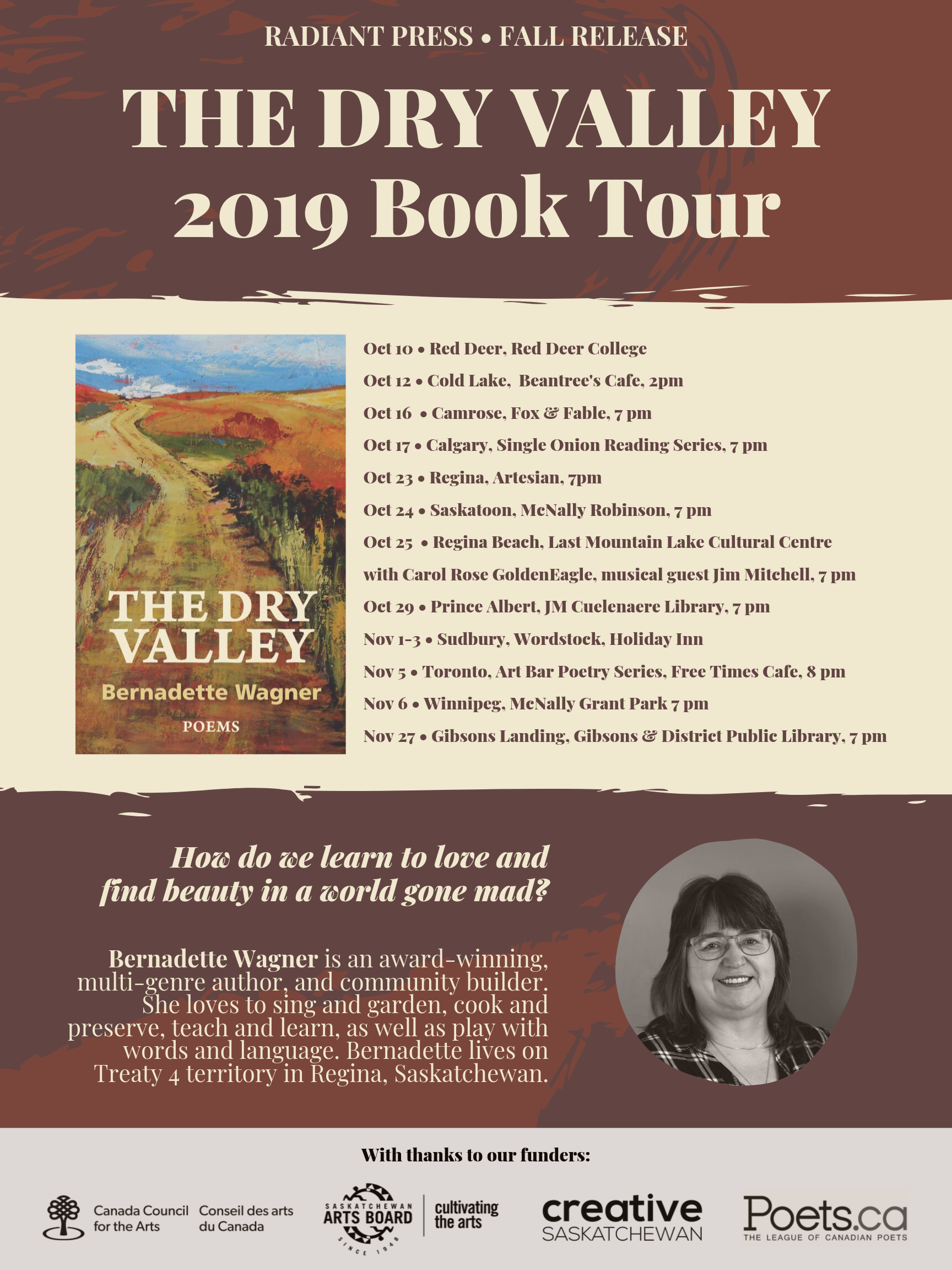 THE DRY VALLEY Bernadette Wagner 2019 Book Tour.png