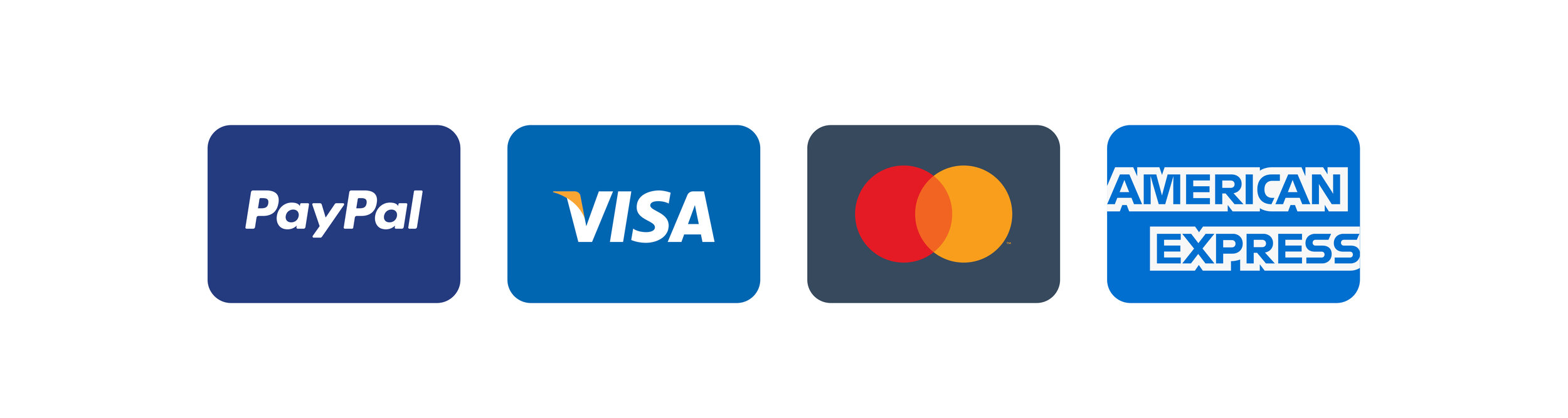 Minimal Credit Card Icons (Copy)