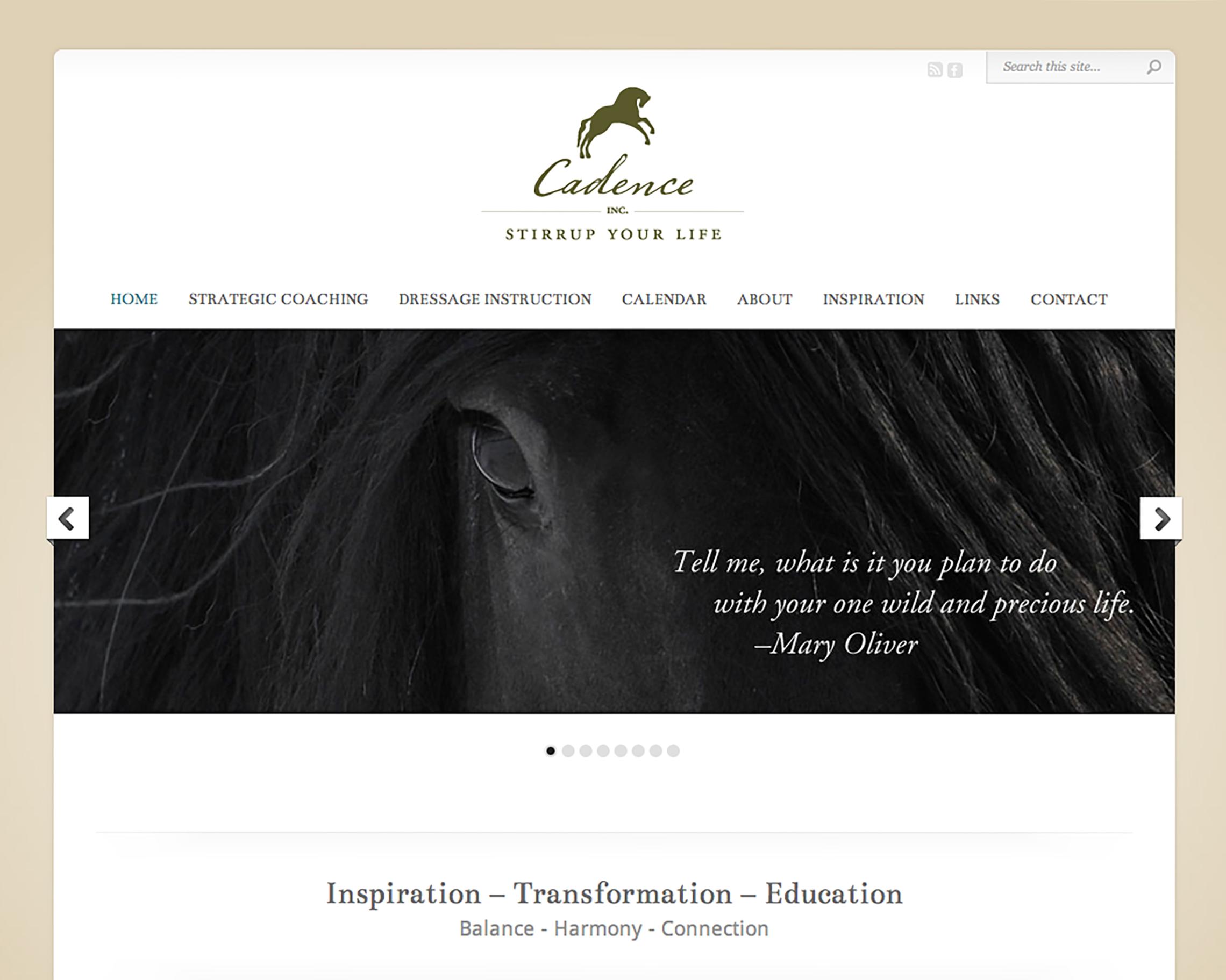 Cadence Coaching | Website