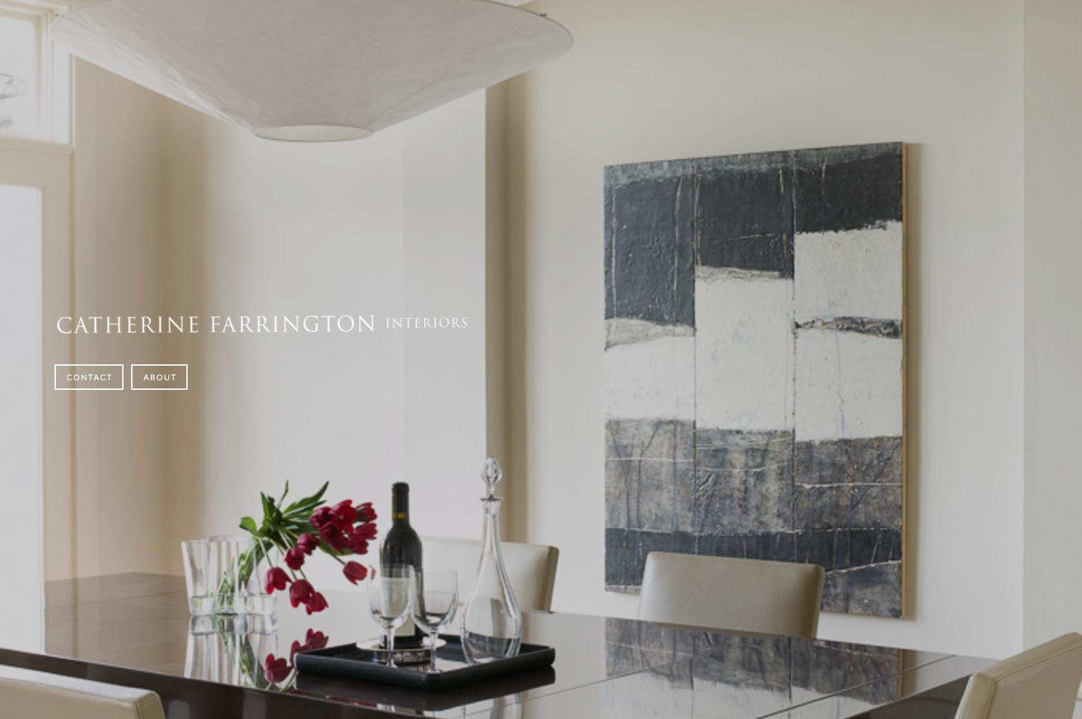 Catherine Farrington Interiors | Website