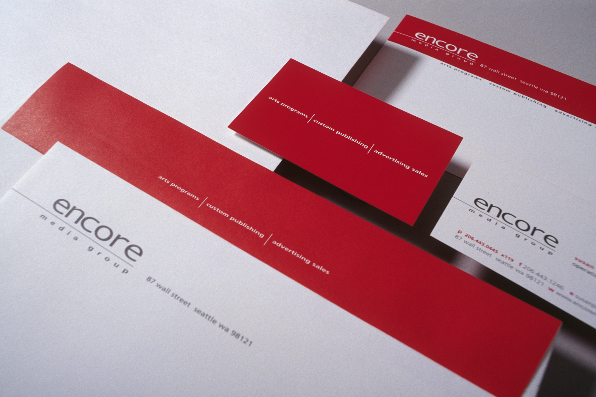 Encore Media Group | Identity