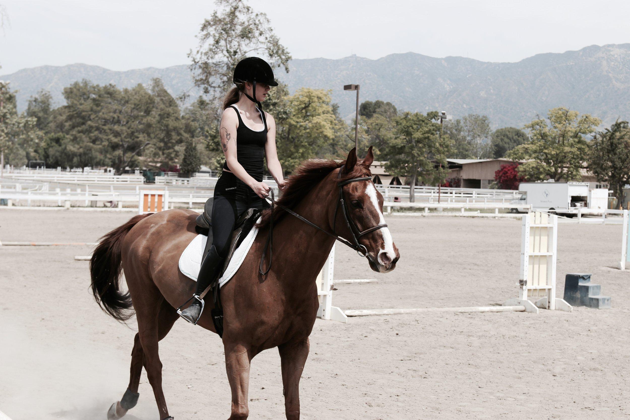 ON A HORSE, BURBANK CA 2017