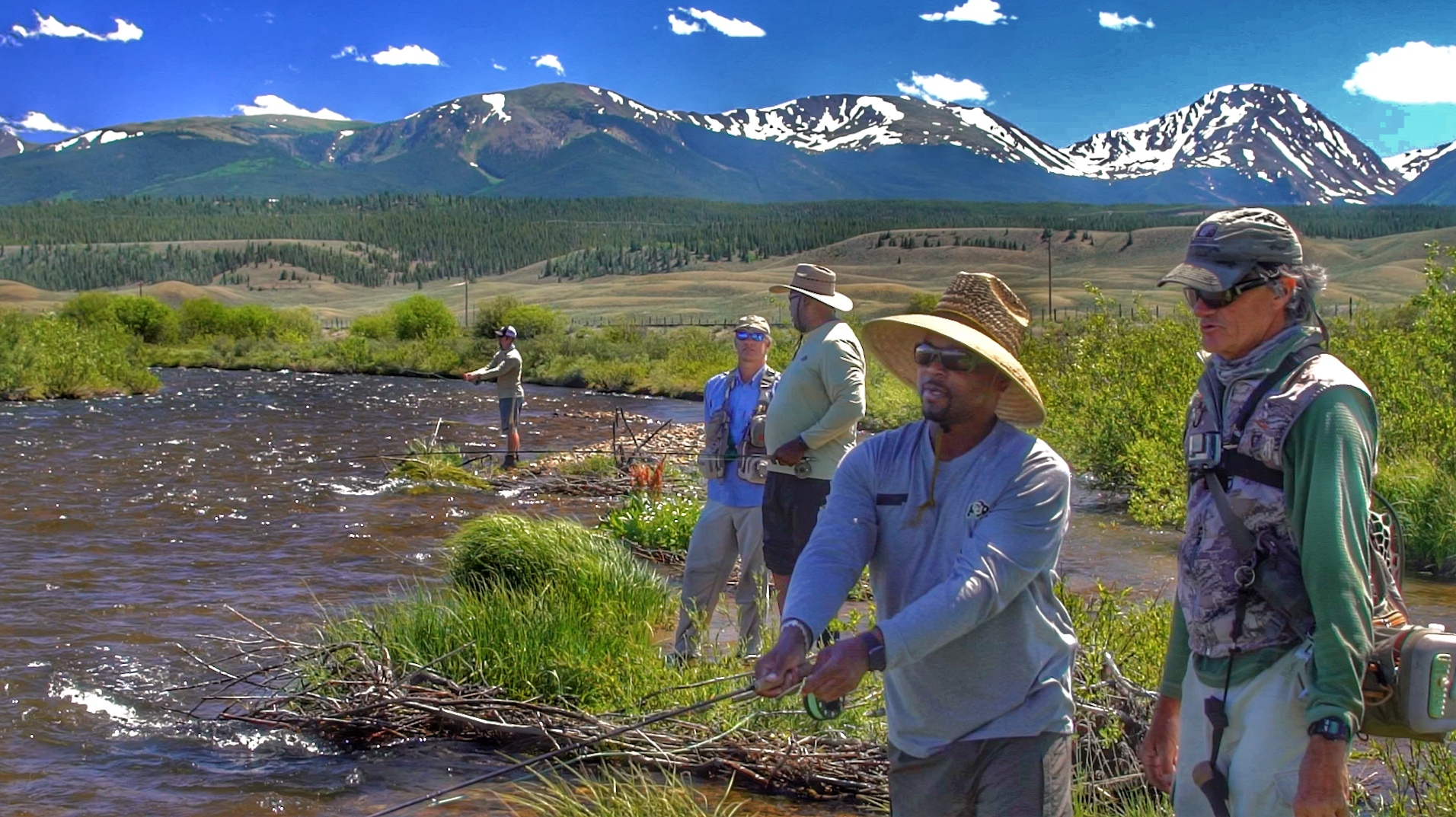 Early summer after runoff settles is prime time to fish the Arkansas Headwaters