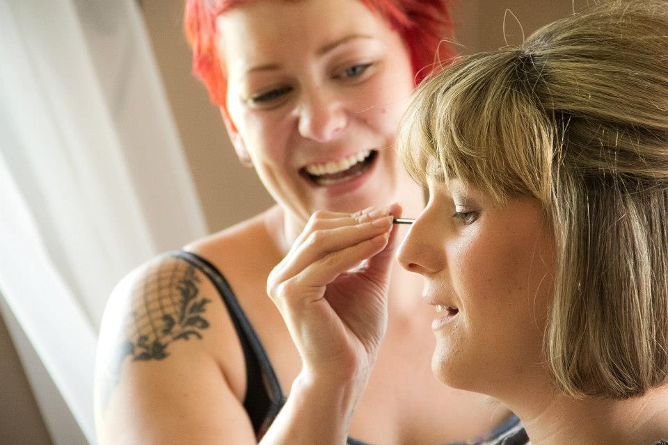 Jaimie Jolly offers several services including wedding and special event make-up, permanent makeup, skincare and cosmetic consultations, and permanant makeup training.