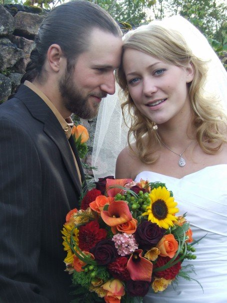 Jaimie and McKenzie were married in Bancroft, Ontario, shortly after Jaimie began her mobile business.