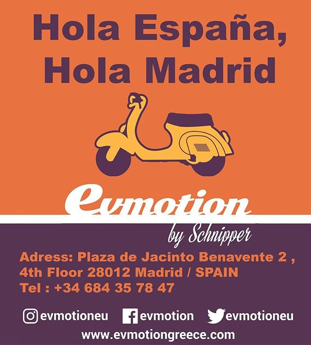 We are Proudly launching our company in Spain . Our Representor is Mr. Lance Colins . Estamos orgullosos de lanzar nuestra empresa en España. Nuestro Representante es el Sr. Lance Colins. #evmotion #spain #scooter #entrepreneur #europe #electric #bikelover #chargingstations #madrid #enjoy #traveller #instabike #ebikes #escooters #vespa
