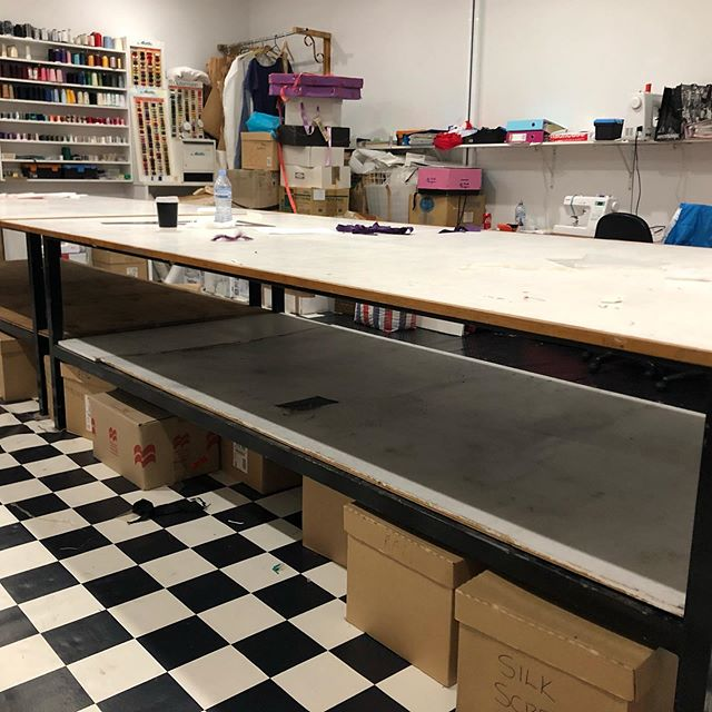 Hi to my friends  I have to move my to big cutting tables tomorrow about 5.30 . I have to move them over about 30cms but they are very heavy so I need some help please just need a couple of friends, it has to be done tomorrow, this is a photo of the tables there is two of them 3mts long 1.5mts wide thanks Hester.