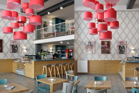 """Café """"Wo ist Tom?"""", Köln. Interior Design: Bergner Meijerink, Foto: Carsten Fork"""