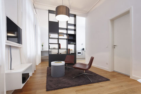 iPartment Köln, Apartmenthaus Gereonswall. Interior Design: Bergner Meijerink, Fotografie Stuido Fünf6